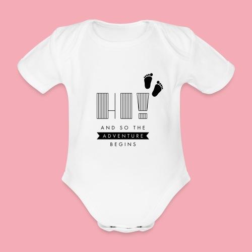 Adventure Baby - Baby Bio-Kurzarm-Body
