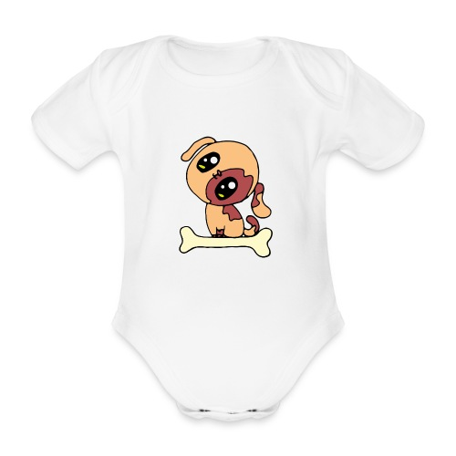 Kawaii le chien mignon - Body Bébé bio manches courtes