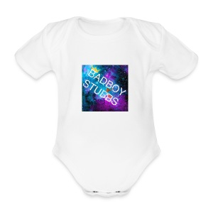 BABIES AND TODDLERS - Organic Short-sleeved Baby Bodysuit
