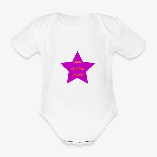 Leuchte - Baby Bio-Kurzarm-Body