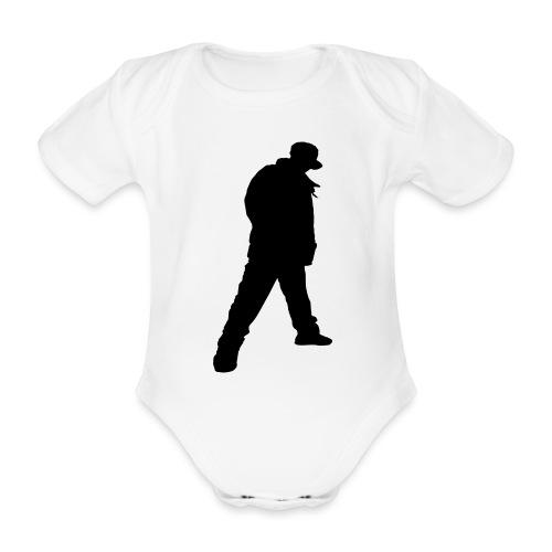 Soops B-Boy Beanie - Organic Short-sleeved Baby Bodysuit