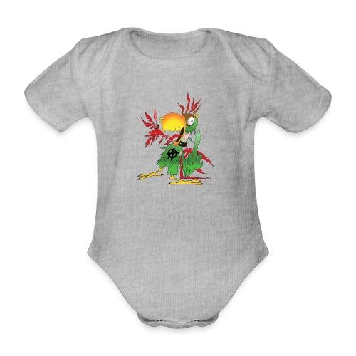 Sebb transparent - Økologisk kortermet baby-body