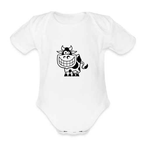 vl094a_kuh_1c - Baby Bio-Kurzarm-Body