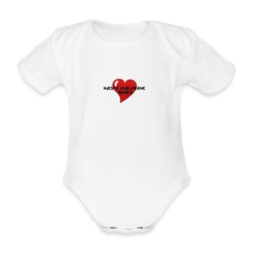 Næste-Hjælperne-Ishøj - Kortærmet babybody, økologisk bomuld