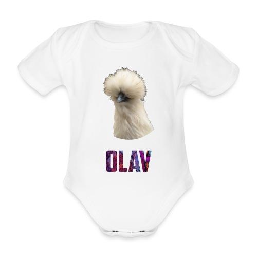 Olav 2 - Økologisk kortermet baby-body