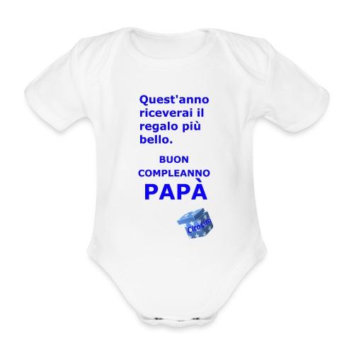 Ciro - Body ecologico per neonato a manica corta