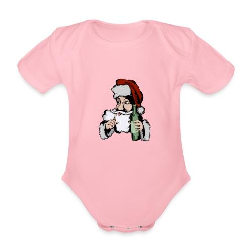 Père Noël Arrive - Santa is coming - Body Bébé bio manches courtes