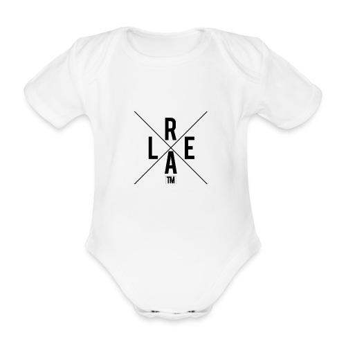 REAL - Organic Short-sleeved Baby Bodysuit