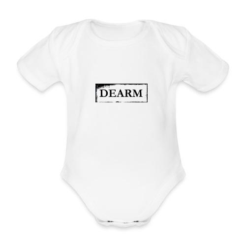 dear png - Organic Short-sleeved Baby Bodysuit