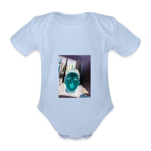 Fletch wild - Organic Short-sleeved Baby Bodysuit
