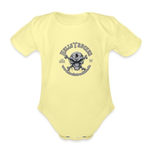 HellsTruckerLogo - Baby Bio-Kurzarm-Body