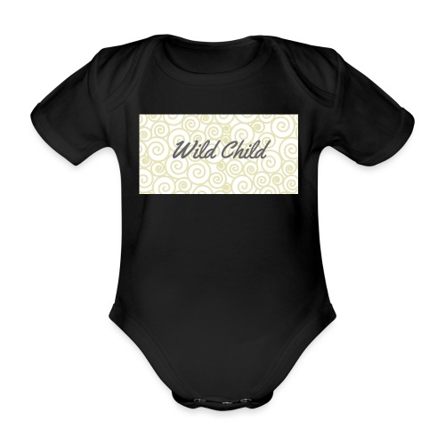 Wild Child 1 - Organic Short-sleeved Baby Bodysuit