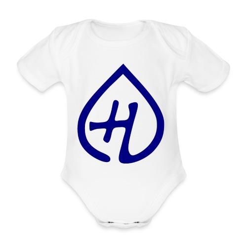 Hangprinter logo - Ekologisk kortärmad babybody