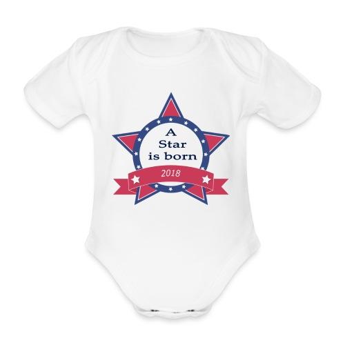 a star is born - Body Bébé bio manches courtes