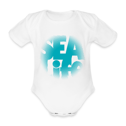 Sealife surfing tees, clothes and gifts FP24R01A - Vauvan lyhythihainen luomu-body