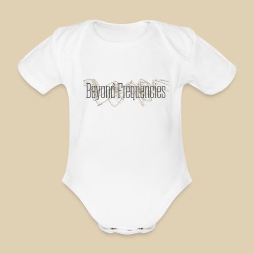 BF Waves Classic Design White - Baby Bio-Kurzarm-Body