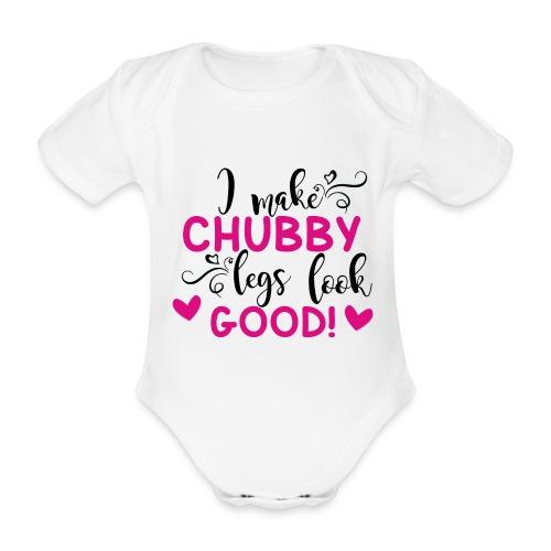 i make chubby legs look good png - Baby Bio-Kurzarm-Body