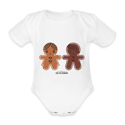 GINGERBREADS - Vauvan lyhythihainen luomu-body