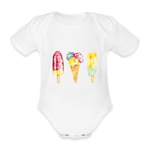 Eis - Organic Short-sleeved Baby Bodysuit