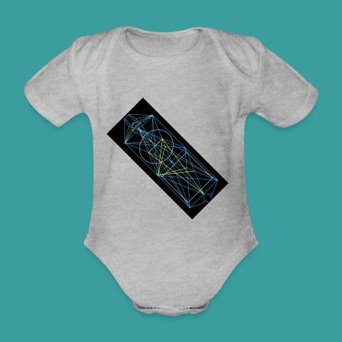 simmetria intelletuale - Body ecologico per neonato a manica corta