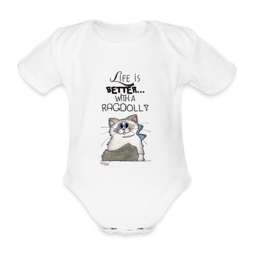 Ragdoll - Body ecologico per neonato a manica corta