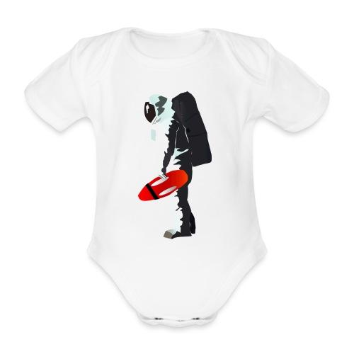 Space Lifeguard - Organic Short-sleeved Baby Bodysuit