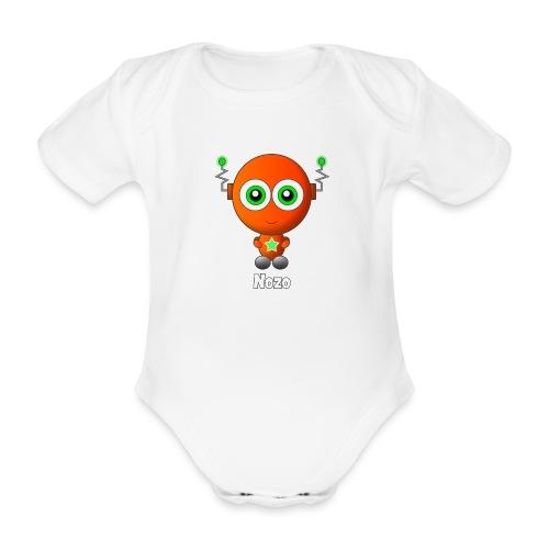 Nozo - Baby bio-rompertje met korte mouwen