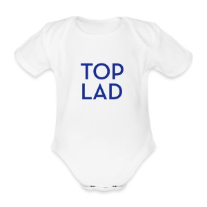 TOPLAD - Organic Short-sleeved Baby Bodysuit
