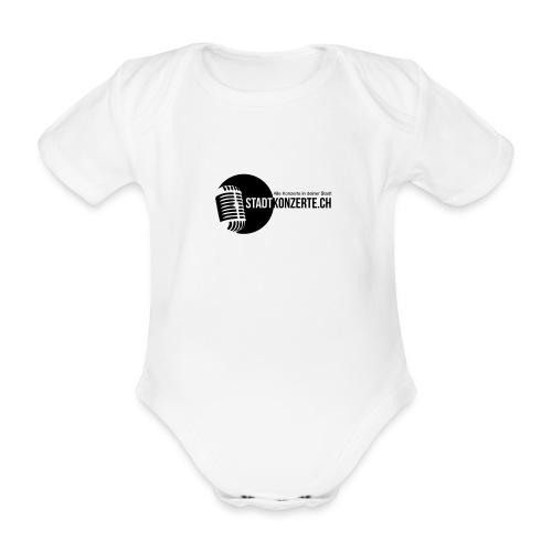 Stadtkonzerte - Baby Bio-Kurzarm-Body