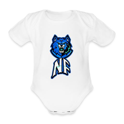 Noah Fortes logo - Baby bio-rompertje met korte mouwen