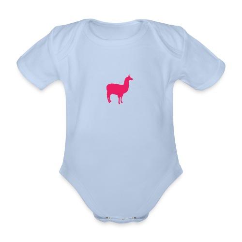 Lama - Baby bio-rompertje met korte mouwen