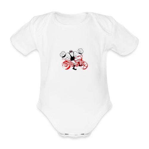 wsa bike - Baby Bio-Kurzarm-Body