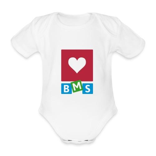 LOVE BMS - Baby bio-rompertje met korte mouwen
