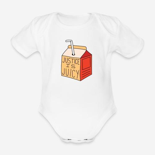 Justice is juicy - Ekologisk kortärmad babybody