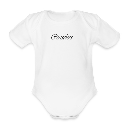 ceaseless - Organic Short-sleeved Baby Bodysuit