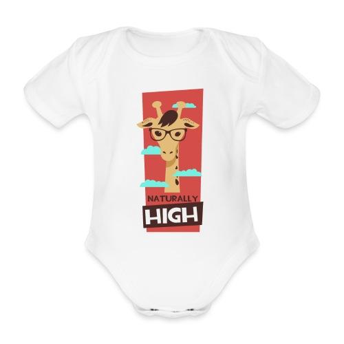 naturally high - Baby Bio-Kurzarm-Body