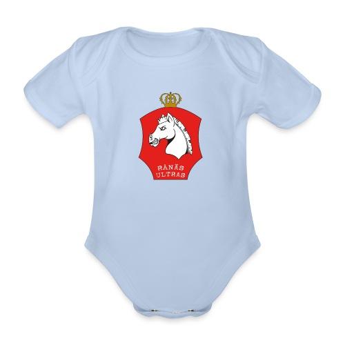 ultras RÖD - Ekologisk kortärmad babybody