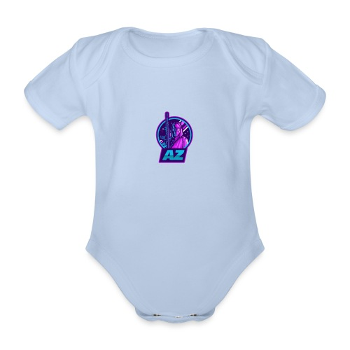 AZ GAMING LOGO - Organic Short-sleeved Baby Bodysuit