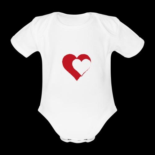 2LOVE - Organic Short-sleeved Baby Bodysuit