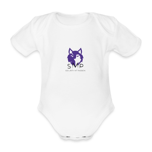 SMP Wolves Merchandise - Baby Bio-Kurzarm-Body