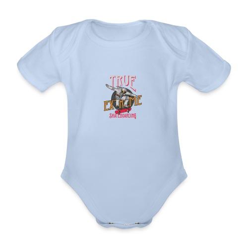 OuterSpaceFont 6 - Body ecologico per neonato a manica corta