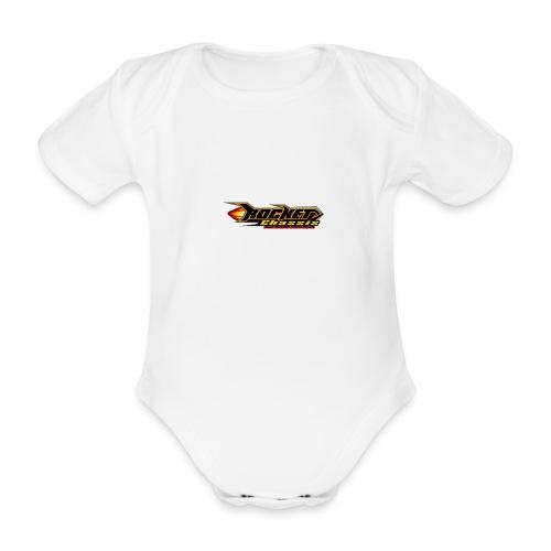 Raketen Chassis - Baby Bio-Kurzarm-Body