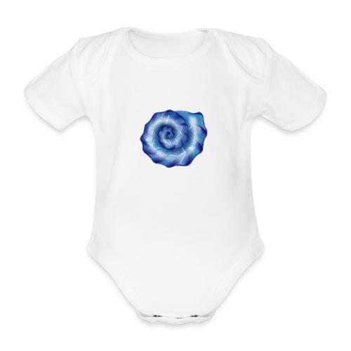 Galaktische Spiralenmuschel! - Baby Bio-Kurzarm-Body