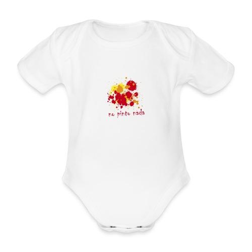 No pinto nada - Body orgánico de manga corta para bebé