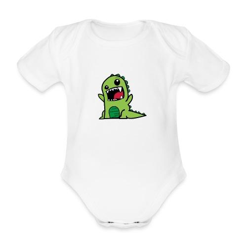 Comic-Dino - Baby Bio-Kurzarm-Body