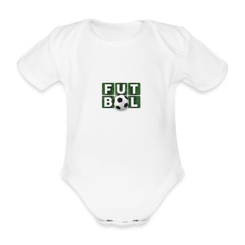 Futbol - Body orgánico de manga corta para bebé