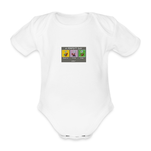 A Perfect Day Halmi - Comic - Baby Bio-Kurzarm-Body
