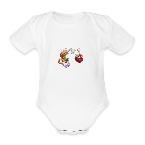 Tomato Chase - Ekologisk kortärmad babybody