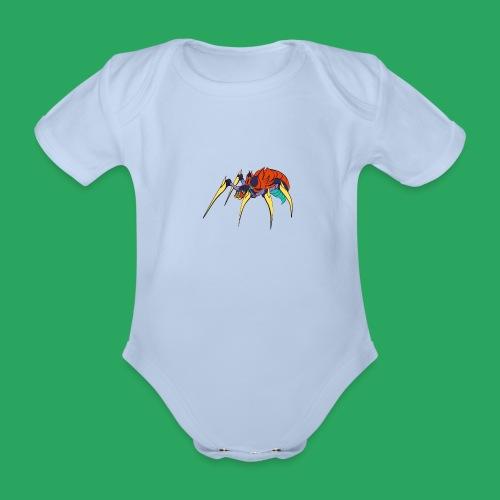 spider man frankenstein monster computer icons car - Body ecologico per neonato a manica corta