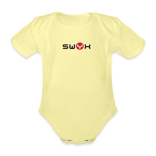 swyxlogo20072col - Baby Bio-Kurzarm-Body